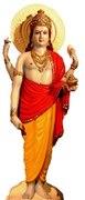 Dhanvanthari als Urvater des Ayurveda