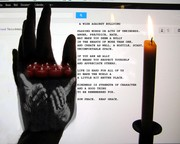 Anti Bully Poster weightless hands re candles NEW WORDING