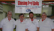 """Reece & the crew of """"Chasing Foul Balls"""""""