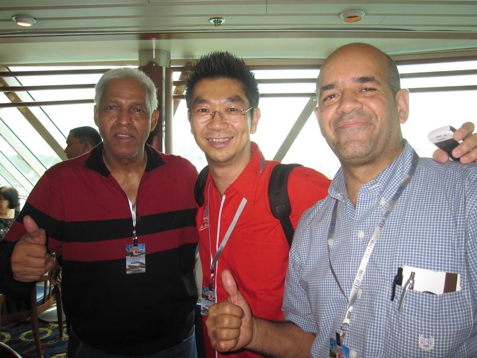 Mr Rafael,Mr Budiman and Mr Manuel