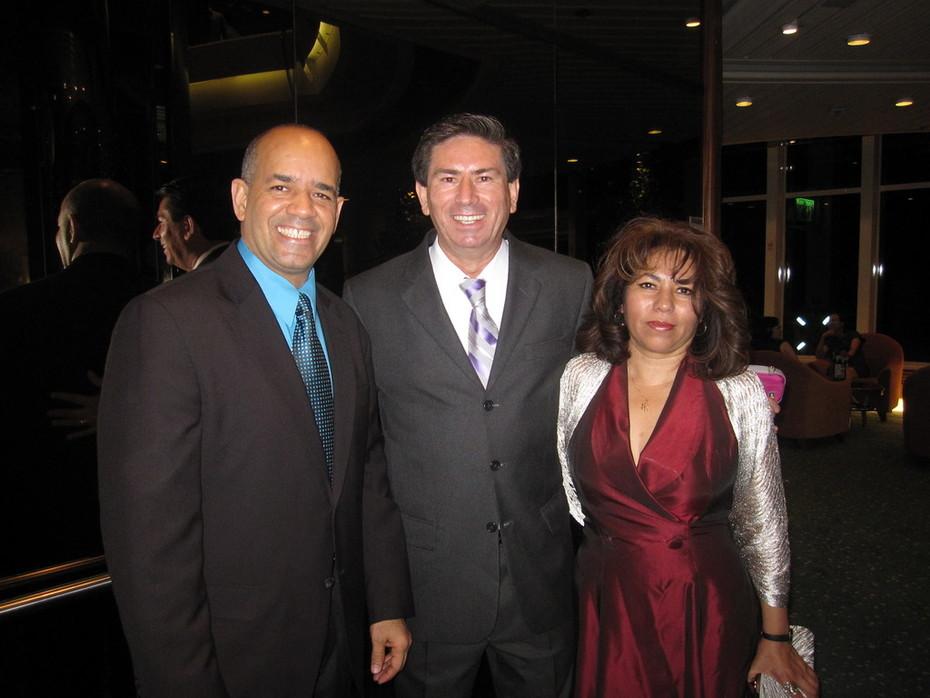Mr Manuel,Mr Bernardo y Esposa