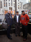 Mr Lazlo,Mr Madera and Mr Radael en New York.