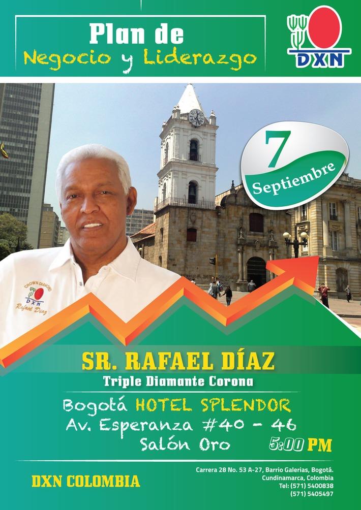 Mr Rafael Diaz-Primer-Triple-Diamante-Corona---- 7 de Sept--Bogota