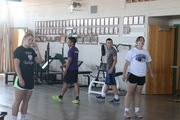 Plyo Class by Dennis Potter
