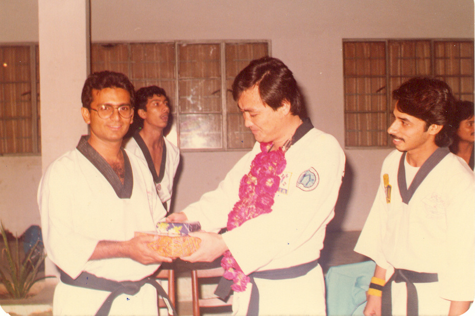 GM Ko Bong Kim Vist Master Zubairi's Dojang-1987
