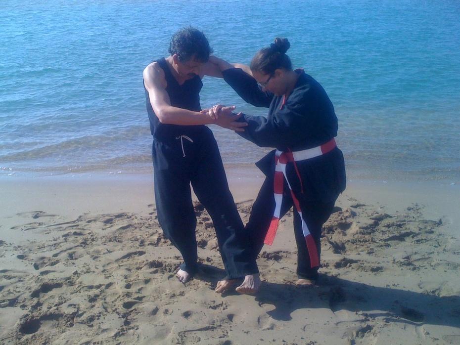 dans les vagues de sable /qwan vo dao►kung fu