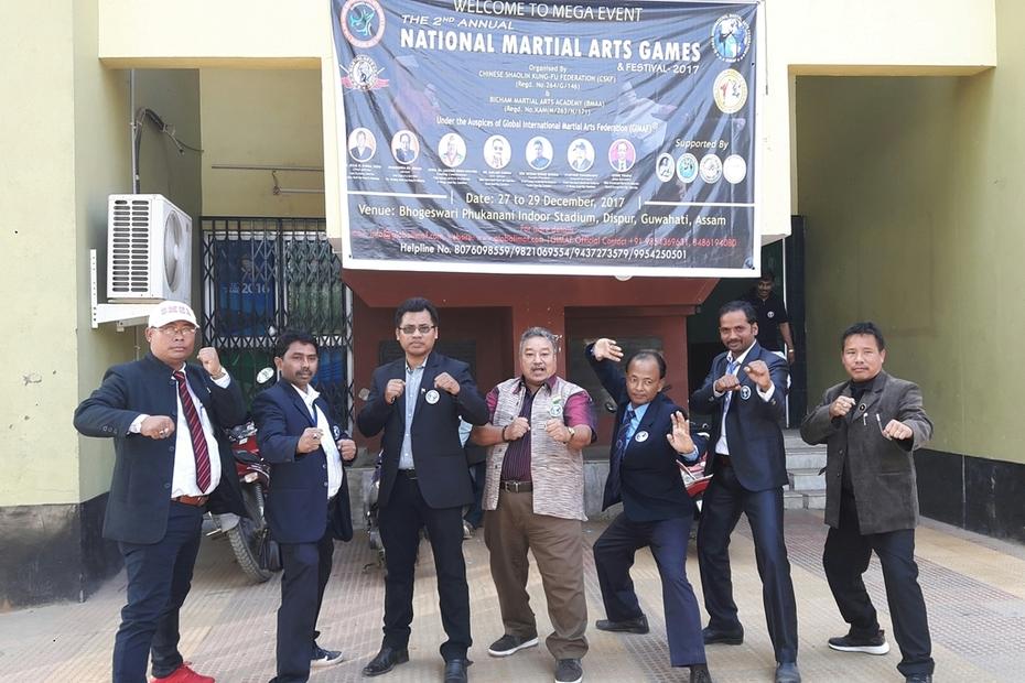 NATIONAL MARTIAL ARTS GAMES - 2017