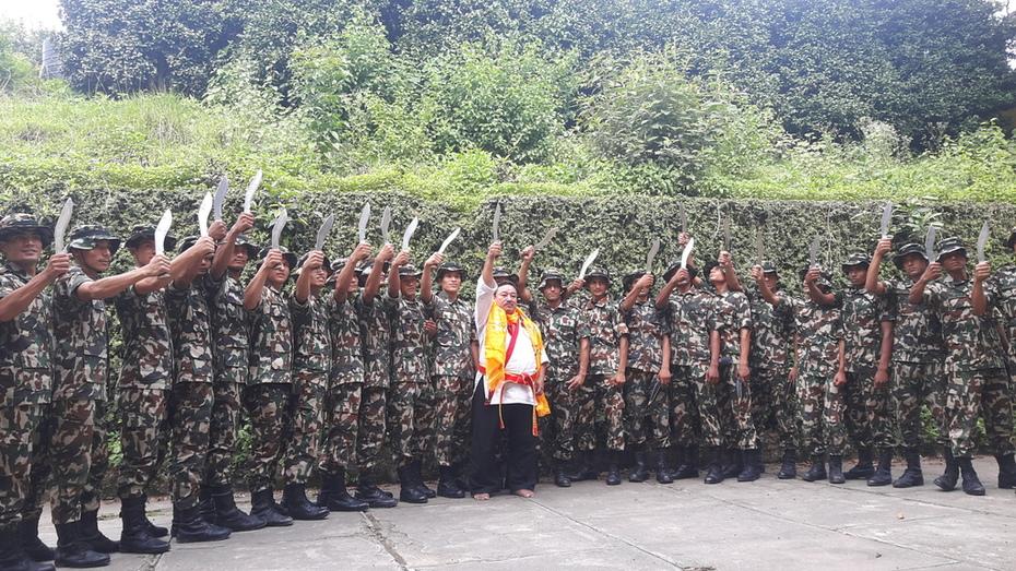 NEPAL ARMY - KHUKURI MARTIAL ARTS - 2018