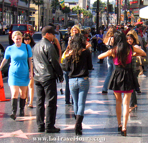 Hollywood Blvd Walk of Fame Tour