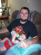 My son Truett and I