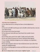 U Maybe Taliban if