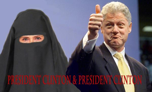 Presidents Clintons