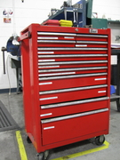Labeled tool chest