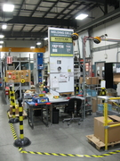 controled welding area