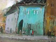 Segesvári kék ház