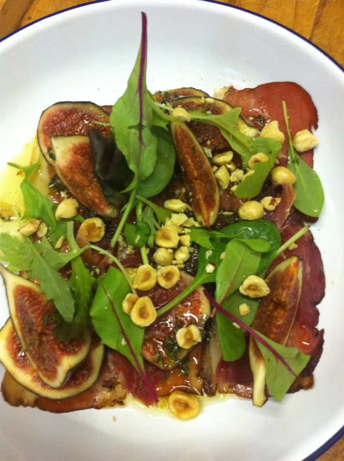 ham, figs and cob nuts