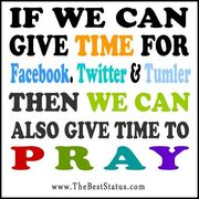 Give Time to Pray