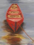 Boat on Lough Mask