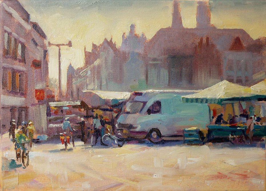 Morning, Den Bosch Markt,