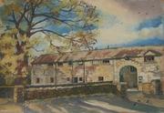 Cabra Castle Courtyard, Co. Cavan