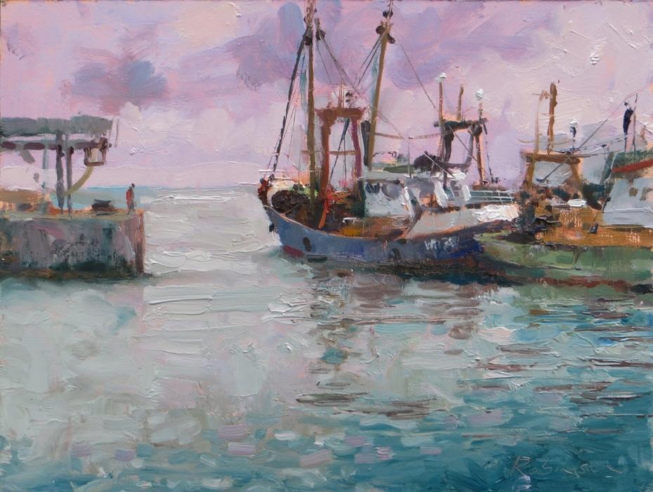 Fishing Boats at Kilmore Quay.