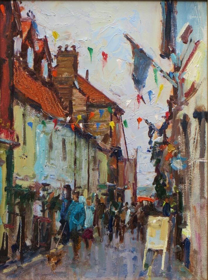 Staithe Street, Wells-Next-The-Sea, Norfolk, UK.