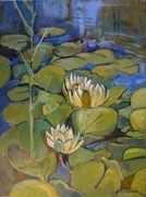 Water  Lilies. for Jen. Sep 2016