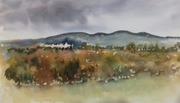 Dublin hills from Lucan
