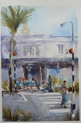 Amanda Brett Watercolour Artist Home Cookery St Heliers Auckland New Zealand