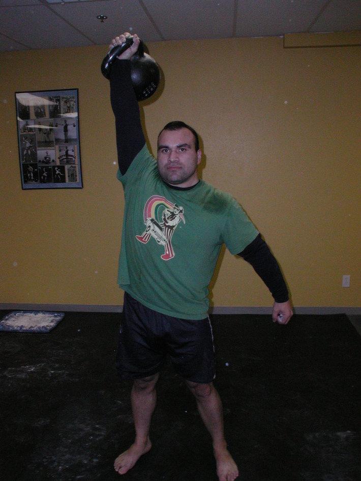 Rene Perez: Kettlebell Instructor