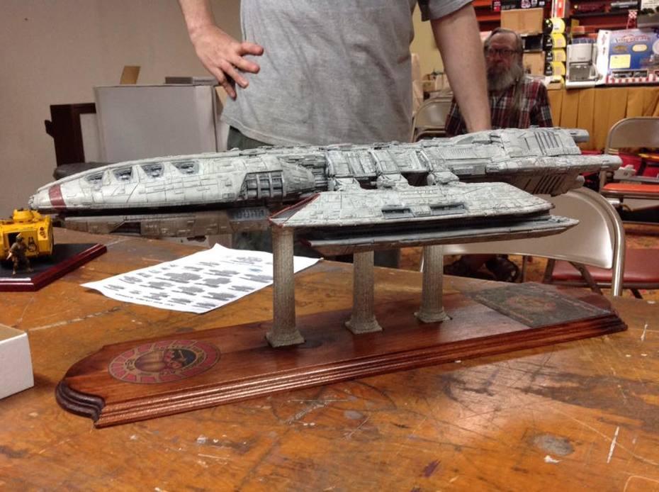 Battlestar Thermopylae model(4)
