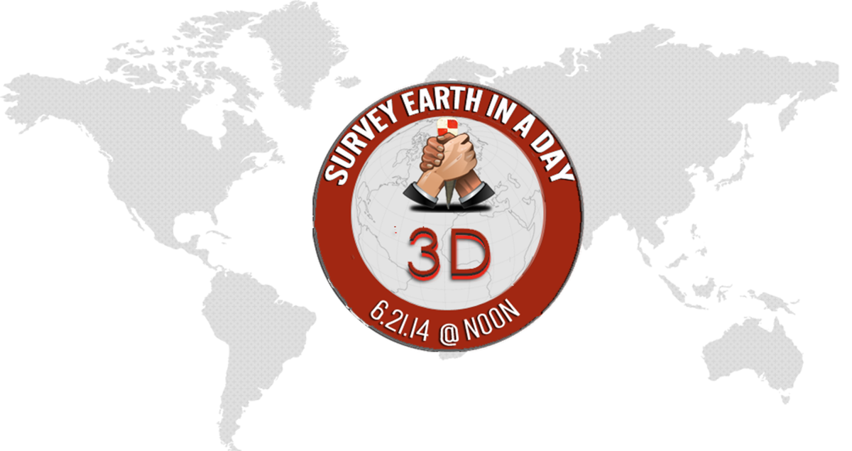Global Ning Powered Event: Survey Earth in a Day 3D