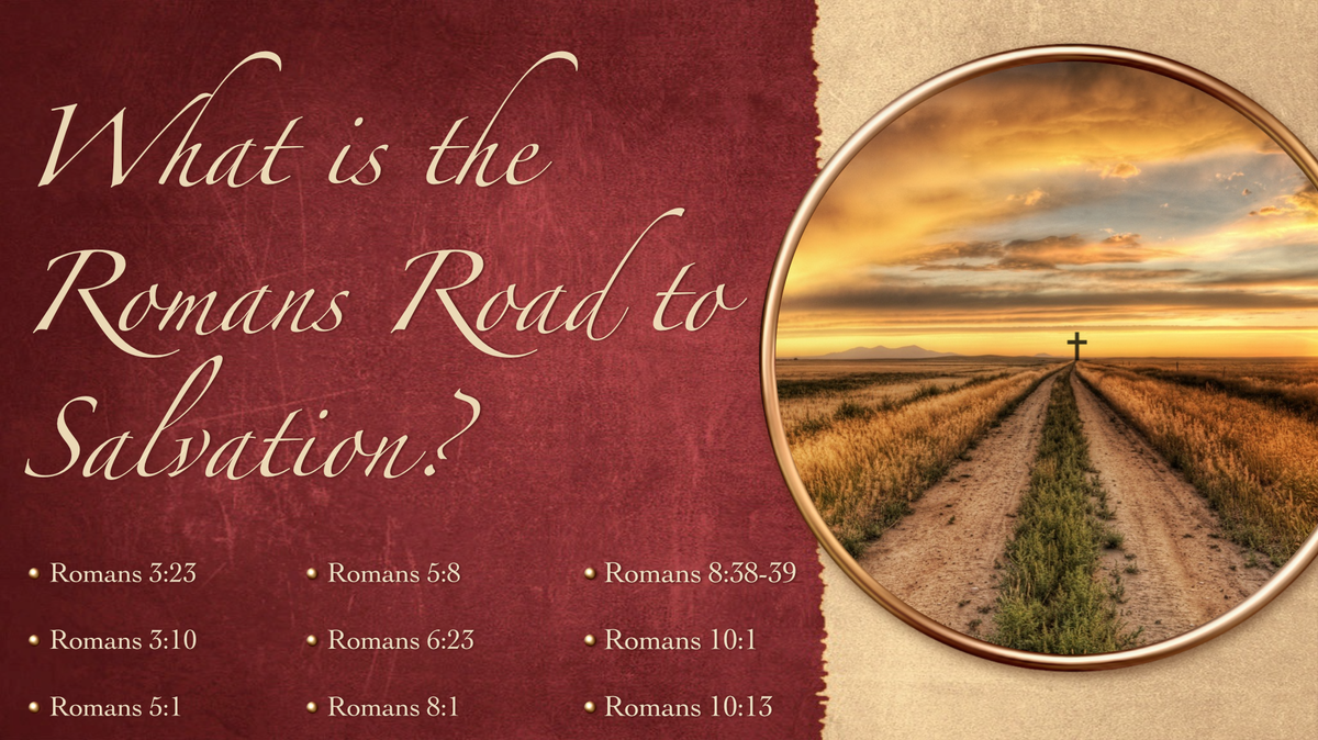 What is the Romans Road to Salvation?