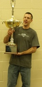 Steve Cook with Culbertson Cup 10-04-09