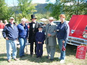Abe &Todd Lincoln,General Lee, and some Fans.