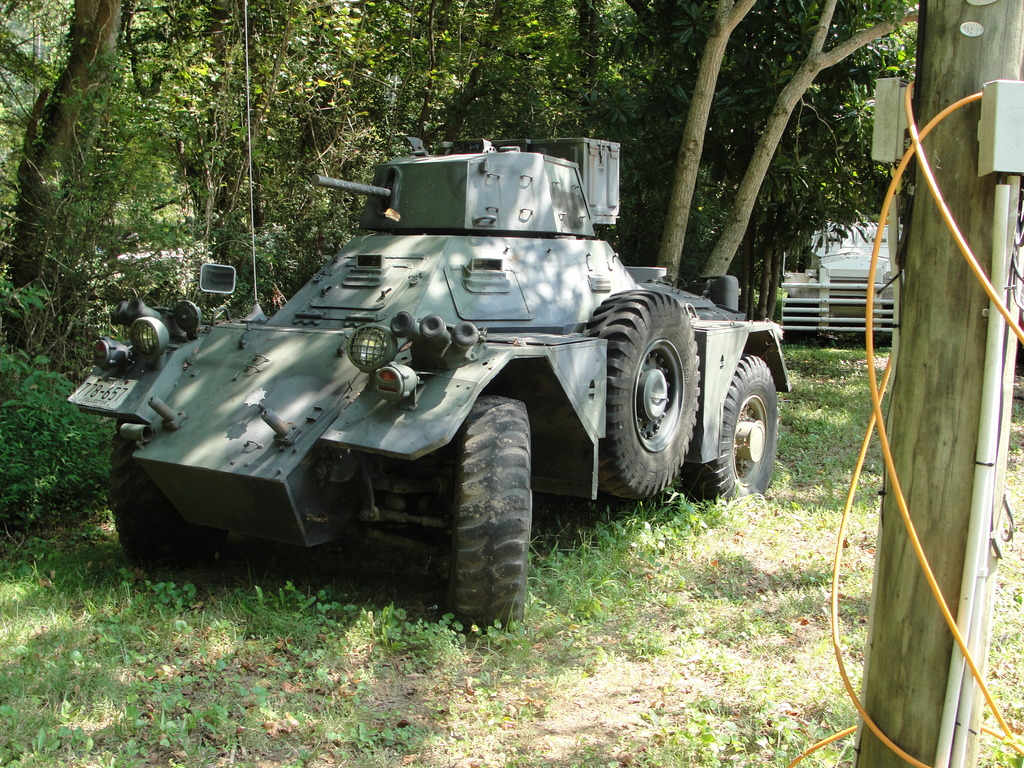 WWII scout car