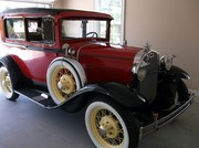 My 1931 Ford Model A for showing while working on the truck. Bought in May of 2012