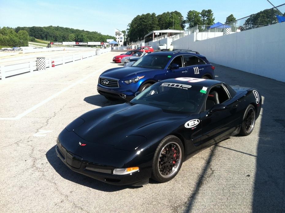Track Testing The Infiniti FX35 At Road Atlanta IMG_0011