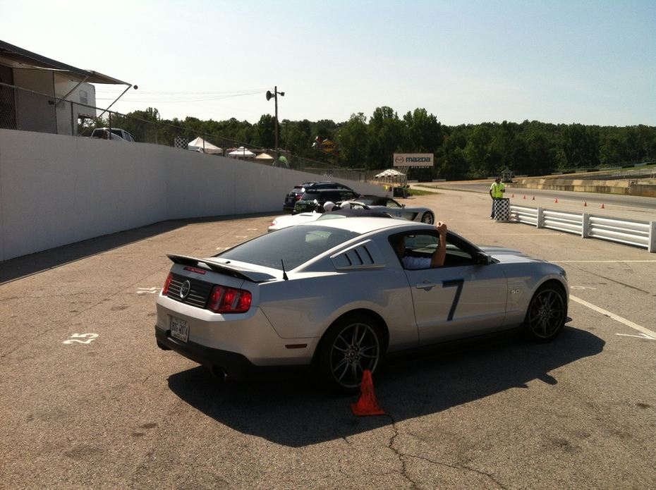 Track Testing The Infiniti FX35 At Road Atlanta IMG_0013