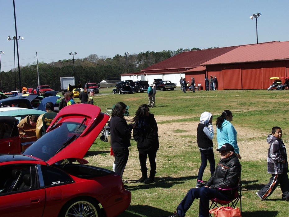 Spring Green Festival Car, Truck & Bike Show -Lawrenceville, GA .  mar. 28, 2015