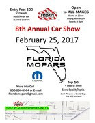 Florida Mopars 8th Annual Car Show