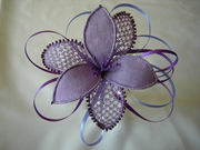 lilac 3-d flower