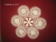 My Teneriffe lace doily