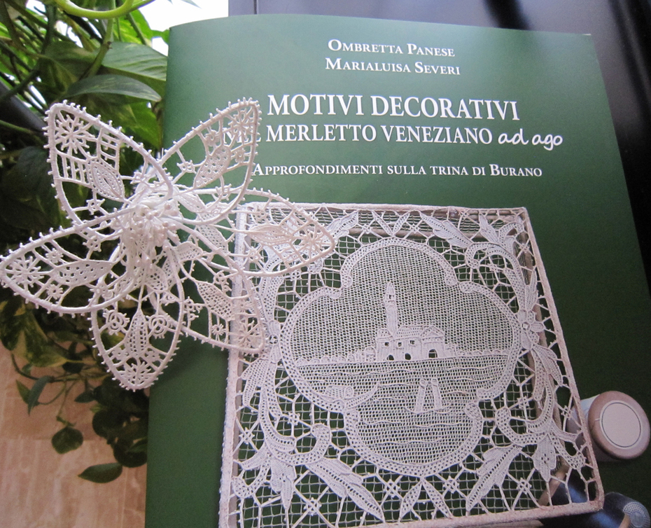 Motivi Decorativi nel Merletto Veneziano ad ago-III vol.