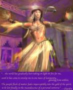 dancing into the cosmic glow