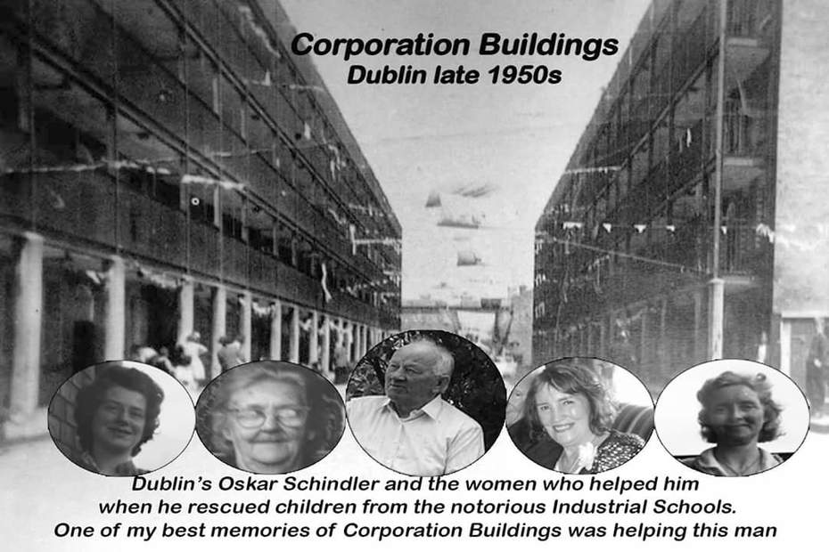 Corporation Buildings was a safe house for children