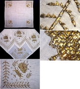 'Goldwork' (& other) embroidered garments from Anatolia.