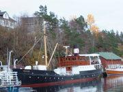 Arbeid på MS Granvin våren 2017 i Dåfjorden. Foto John Lind-Hansen