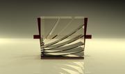 Cube crystal