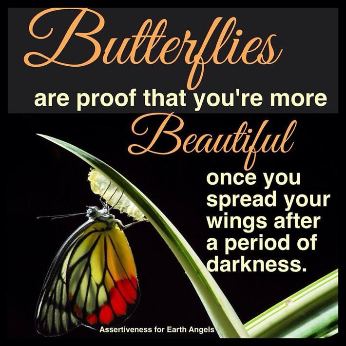 darkness/butterflies